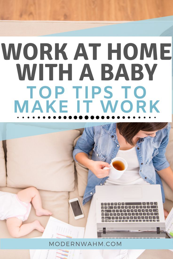Work at home with a baby - top tips to make it work. How to work at home with kids - things to try when you've tried everything else - work at home mom, stay at home mom, mom life, working at home, everything you need about working from home #wahm #sahm #workathome #mom #motherhood