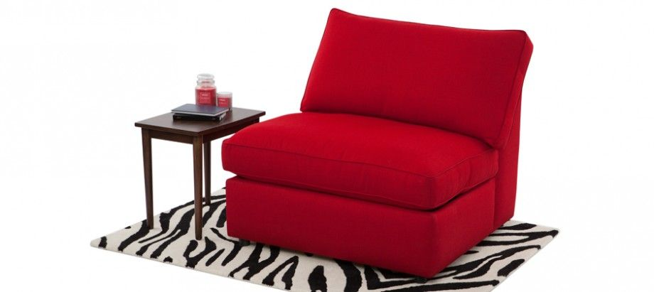 Best Aaron Armless Sofabed Red Beds Sofa Beds On Sale Now £ 400 x 300