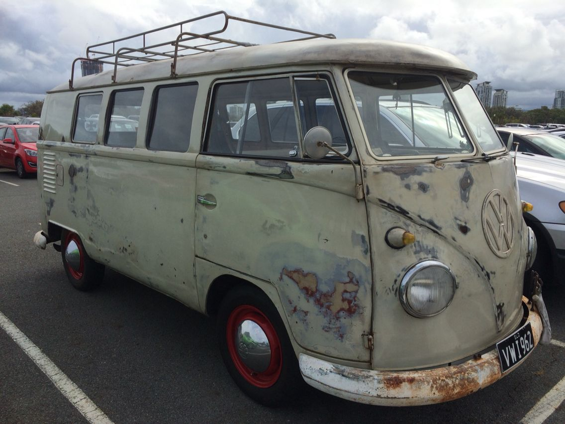 Seen this gem on the gold coast Volkswagen bus, Vw
