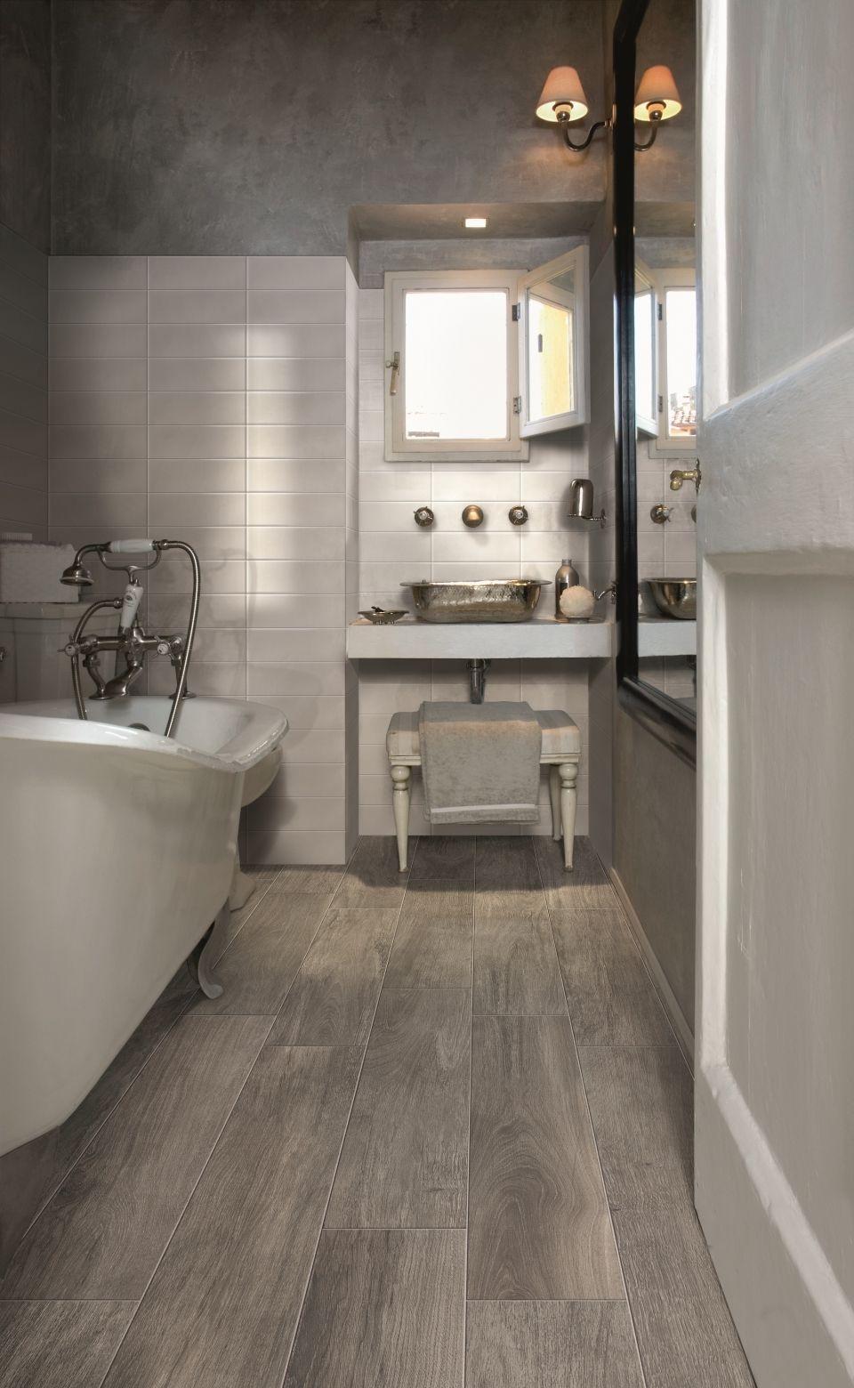 Bathroom Floor Tile Wood Look Wikizie