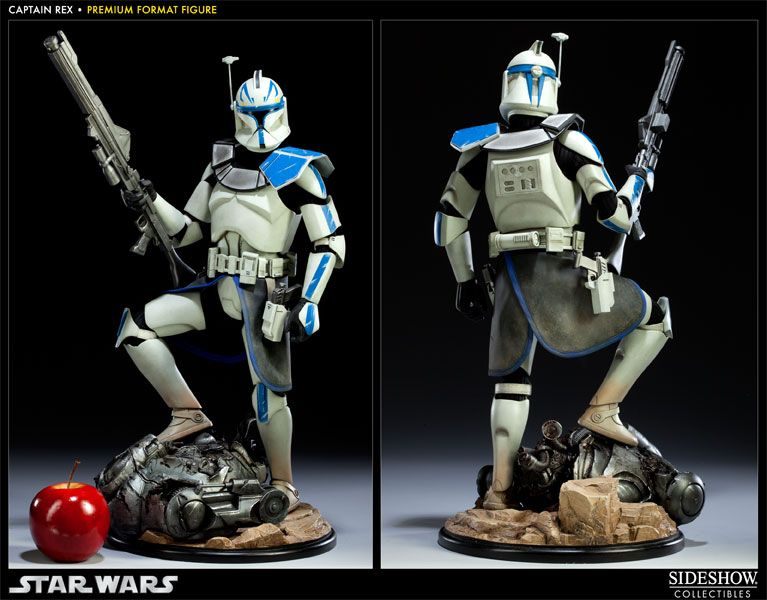 Star Wars Captain Rex Blue Clone Trooper Figure New