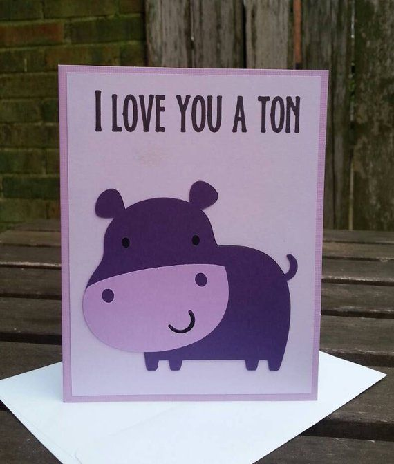 Mouse Hippo Valentine Card Hippopotamus Pun Card Animal Pun Valentine Kids Valentine Funny Valenti Pinterest Hippo Valentine Card Hippopotamus Pun Card Animal Pun Valentine