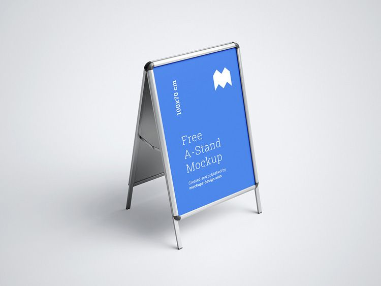 Free A Stand Mockup Download Free Mockup Mockup Psd Mockup Free Psd