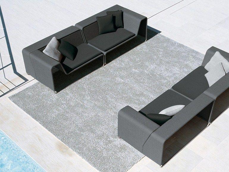 Sectional modular garden sofa ISLAND   Garden sofa by paola lenti ...