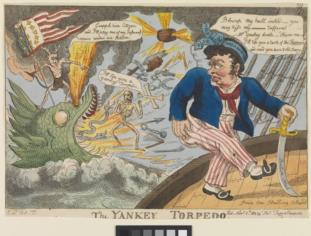 The Yankey Torpedo  ca. 1813