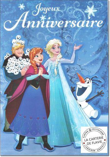 Nouvelles Cartes Anniversaire Disney La Reine Des Neiges A Retrouver Sur Notre Site Http Carte Anniversaire Anniversaire Disney Carte Invitation Anniversaire