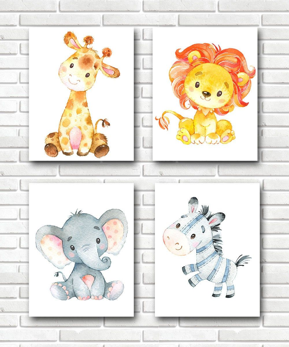 Safari Nursery Decor