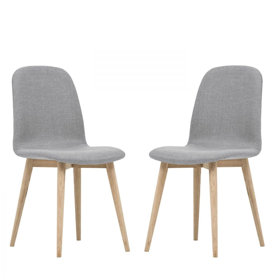 Chaise Scandinave Rembourree Chaises Rembourrées Helvig I Lot De 2 In 2019 Chaises Chaise