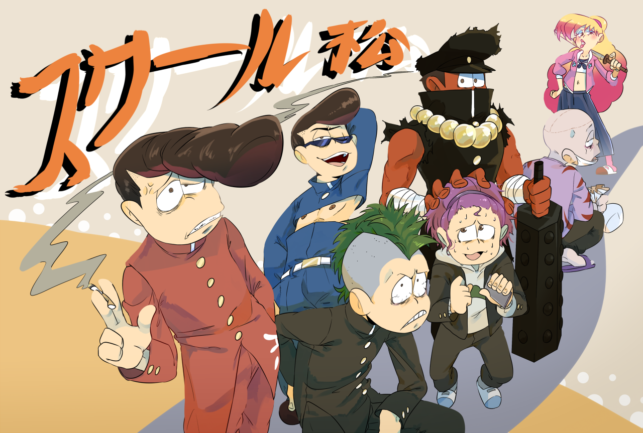 Osomatsu-san Blog (i know for sure jyushi is really scary in this version yike..)