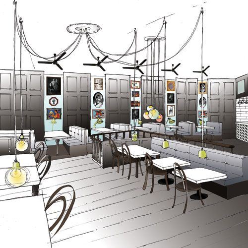 Brand restaurant design « afroditikrassa branding