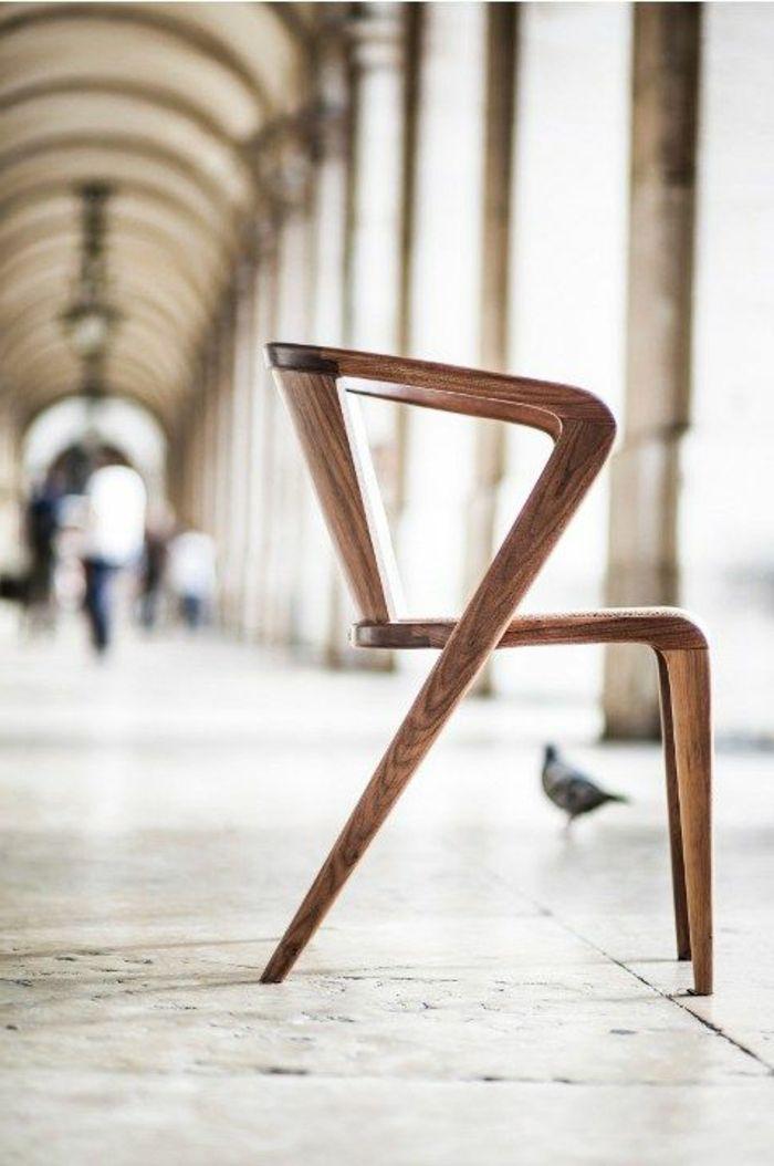 Designer-Stuhl-Holz-interessante-Form   Stühle   Pinterest   Stuhl ...