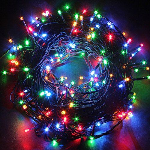 Decorative Christmas Twinkle LED Lights 100 LED 33ft Various Color