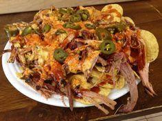 These were so yummy! - Pulled Pork Barbecue Nachos Recipe