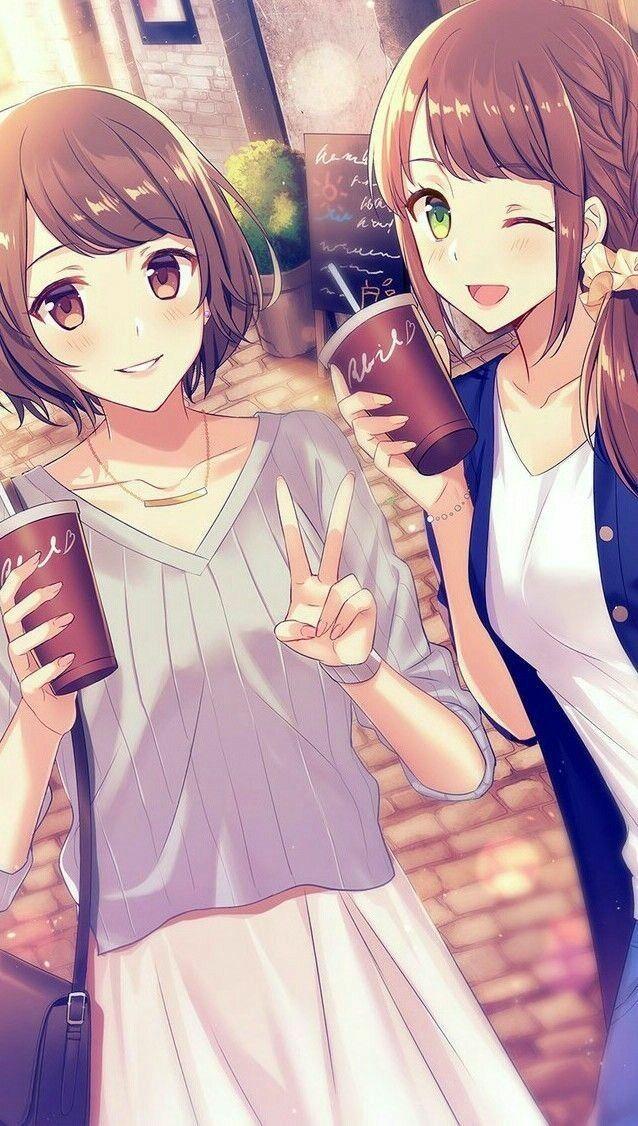 Pin By Jojo Tv On Anime Anime Sisters Friend Anime Anime Friendship