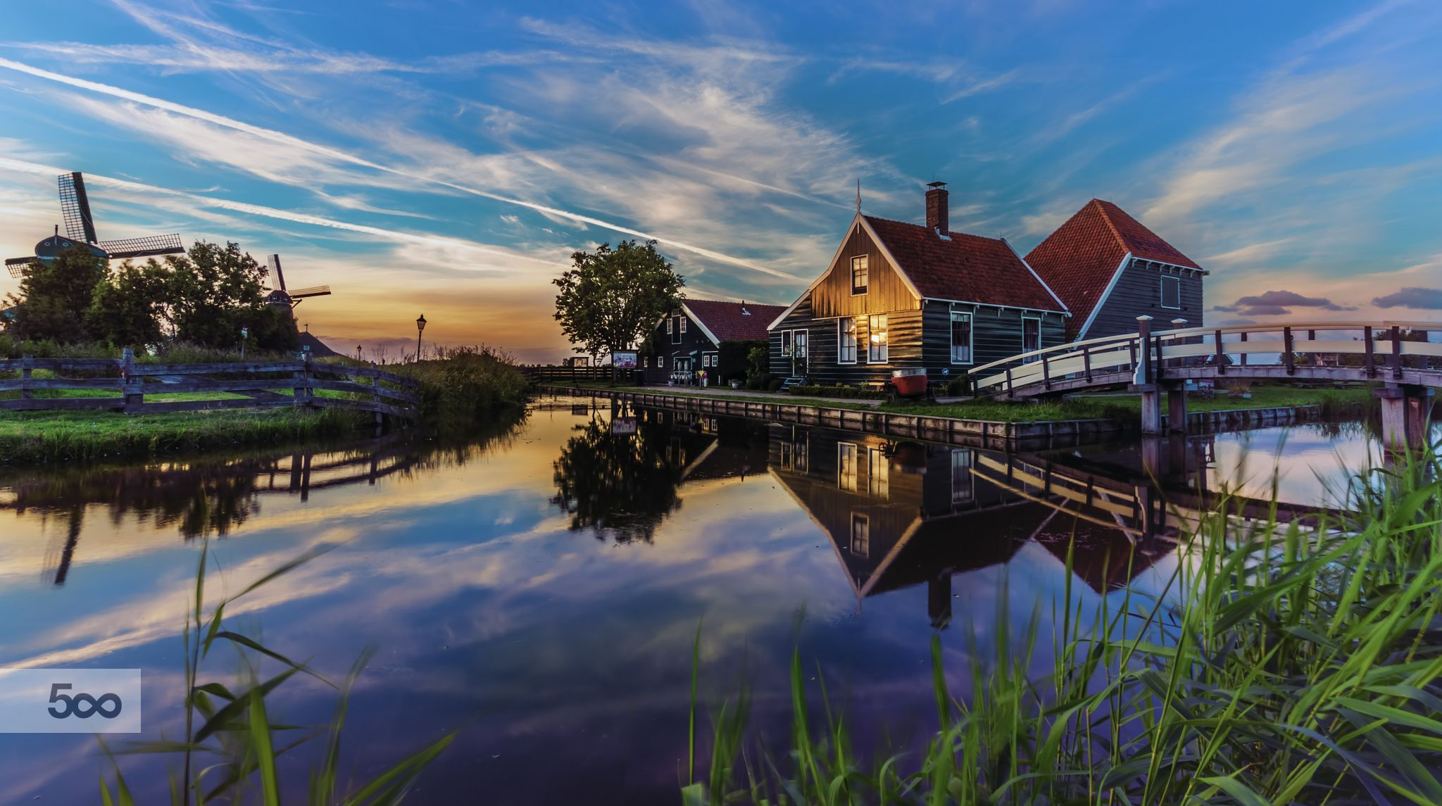 Photograph Zaanse Schans Holland By Remo Scarfo On 500px Landscape Photography City Architecture House