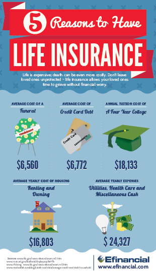Life Insurance Infographic Efinancial Miplanforlife Miplan