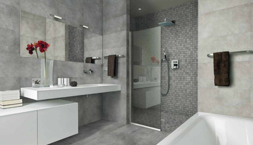 Badkamer Grijs » Afbeeldingsresultaat voor badkamer ideeen grijs ...