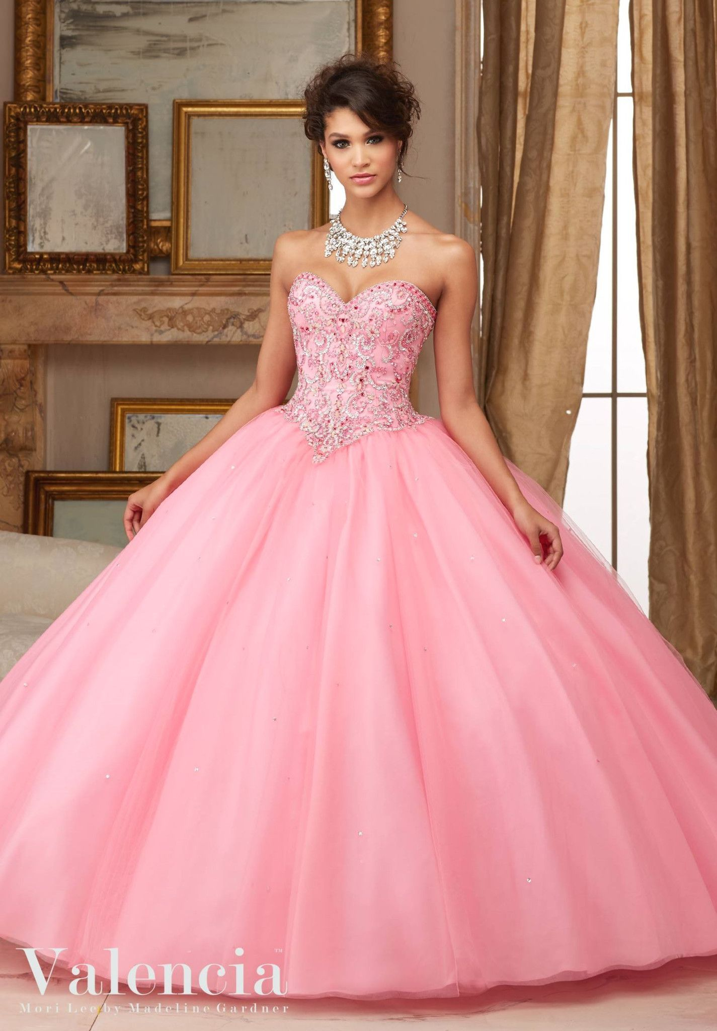 Elegant and timeless, Mori Lee Mori Lee Valencia Quinceanera Dress ...