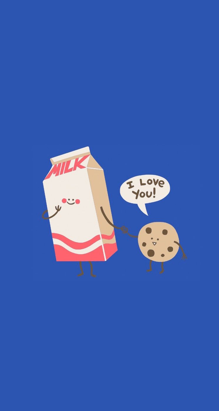 Gotta have milk with cookies!!