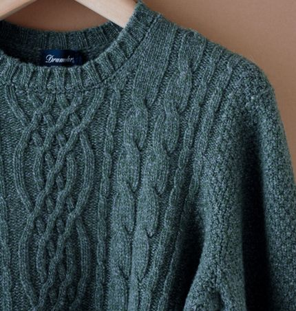 waxwane: Drumohr Cable Knit at C.H.C.M.