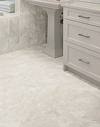 Virtue Porcelain Tile Captures The Best Qualities Of World S Purest White Marbles Carrara
