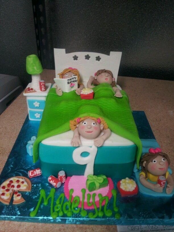 Sleep Over Cake Adorable By Melissa Birthday Cakes