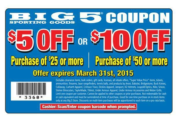 online printable big 5 coupons for july