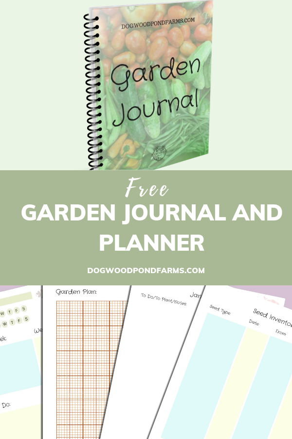 Get a FREE copy of the garden journal and planner. Loaded ...