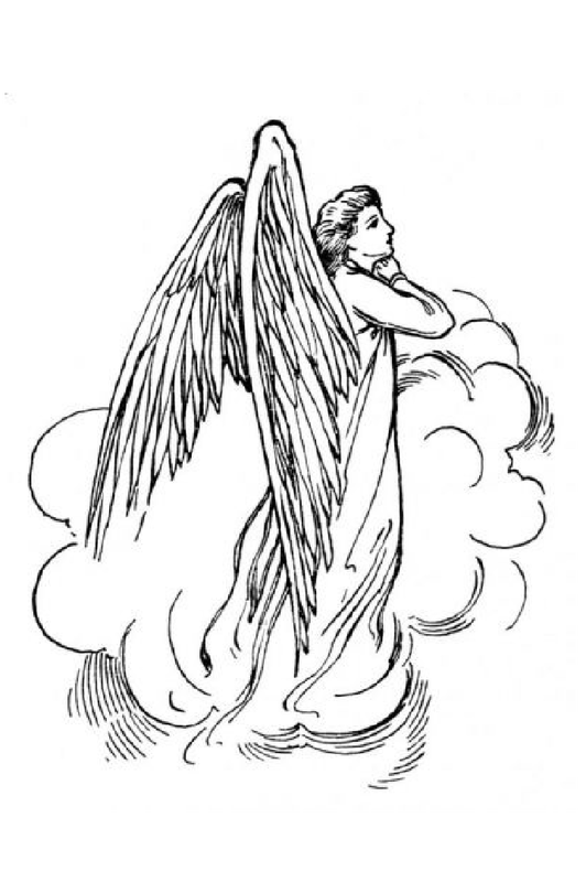 Praying Angel Outline Related Keywords Amp Suggestions Praying Angel Angel Outline Fairy Coloring Pages Angel Coloring Pages