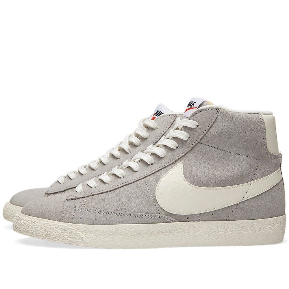 nike trainers mens blazer mid prm vntg suede leather