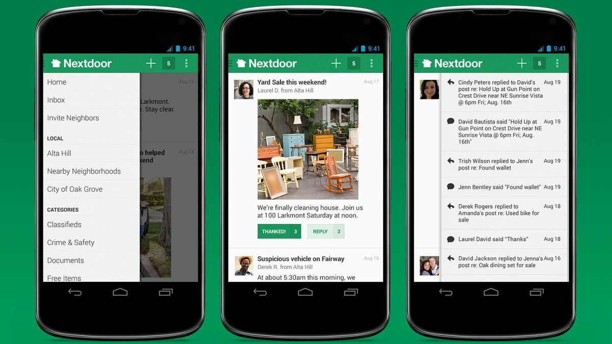 Nextdoor Android Web The Neighbourhood Android Tutorials Android Web