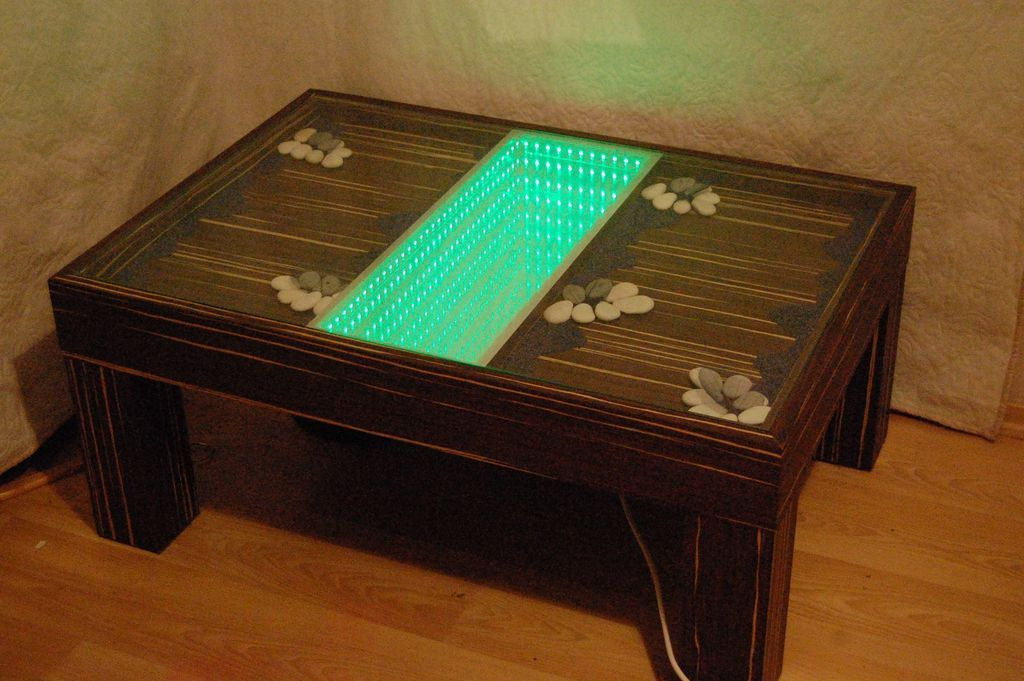 Infinity Mirror Table The Easy Version Infinity Mirror Table Infinity Mirror Table