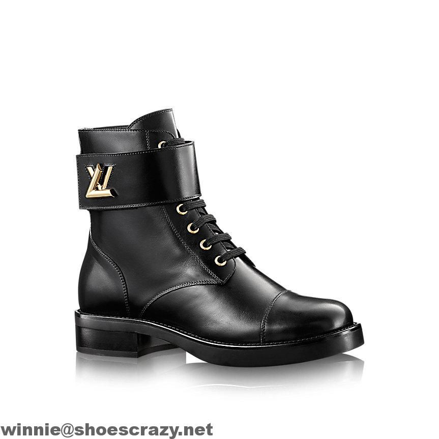 Discover Louis Vuitton Wonderland Ranger: This on-trend ranger boot in  plain calf leather is accessorized with an LV Twist buckle inspired by  Louis Vuitton ...