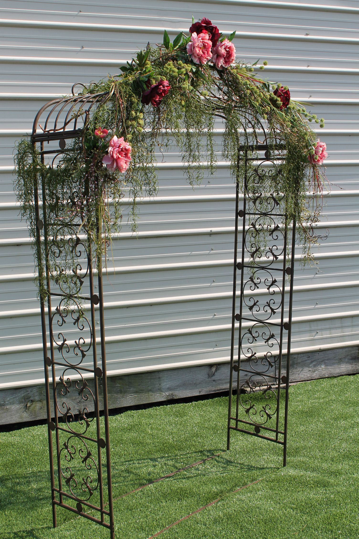 Rent me sistersenvy arched metal arbor rustic wedding wedding country rent me sistersenvy arched metal arbor junglespirit Image collections