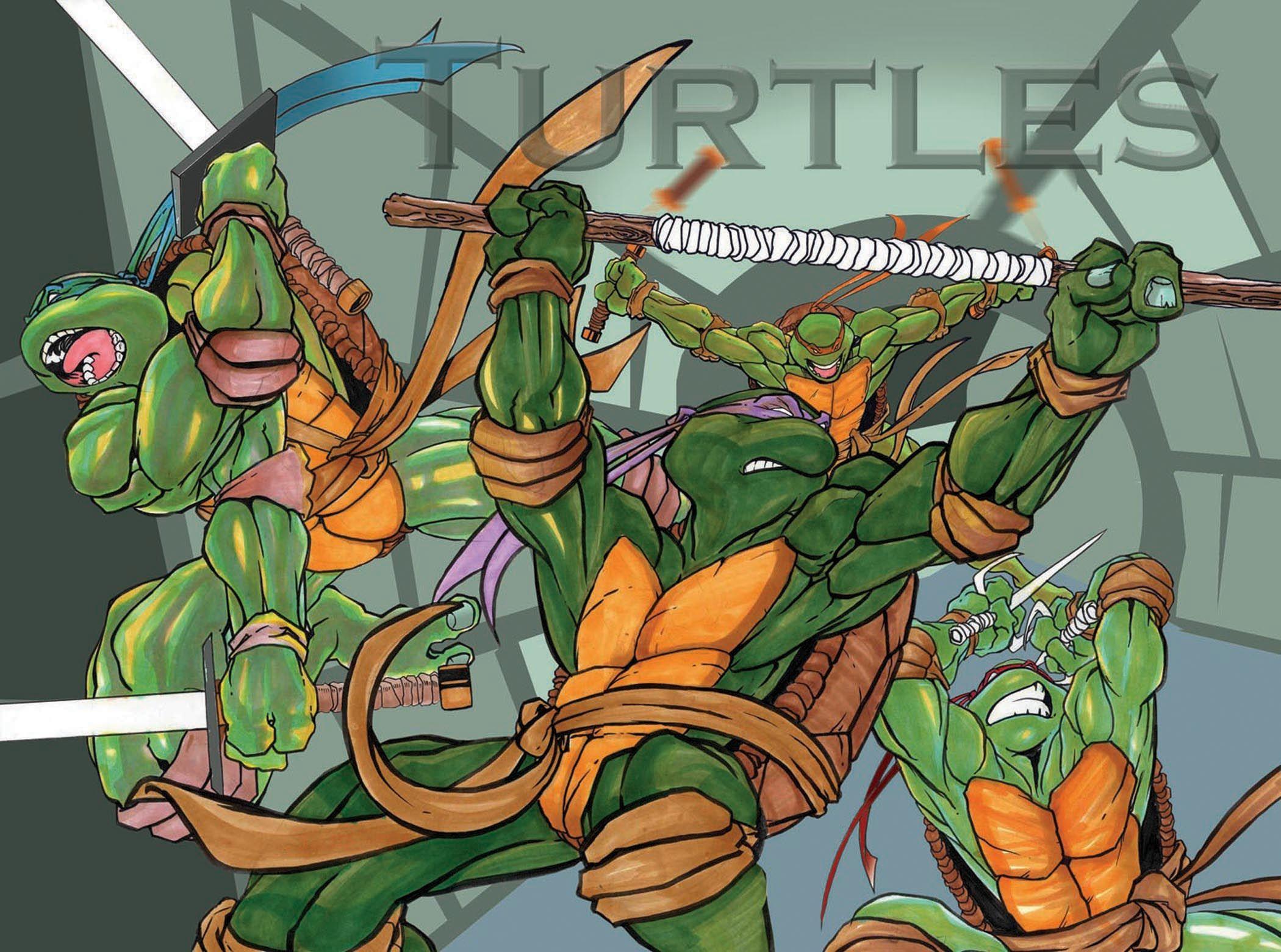#Teenage #Mutant #Nina #Turtles #Fan #Art.