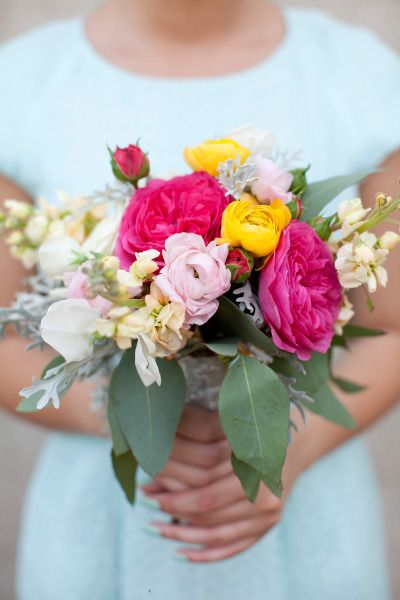 Bright and cheery bouquet: http://www.stylemepretty.com/2014/11/05/bright-and-elegant-atlanta-wedding/ | Photography: Love Like Weddings - http://www.lovelikeweddings.com/