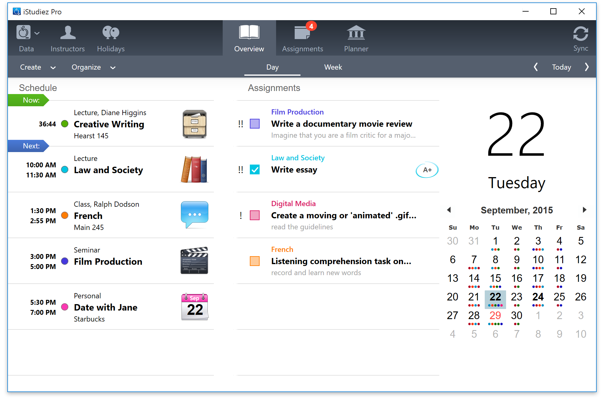 iStudiez Pro for Windows Best App for Students College