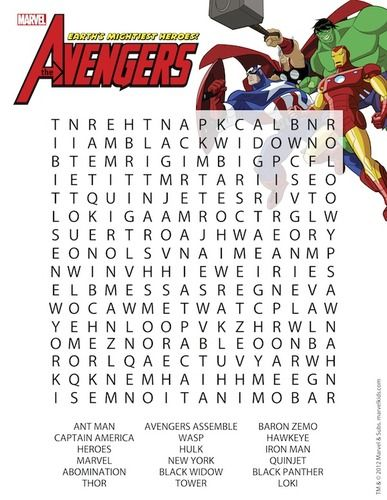 superhero activity pages - Google Search