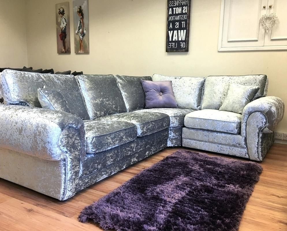 Crushed Velvet Sofas For Uk Couch Cover Taskers