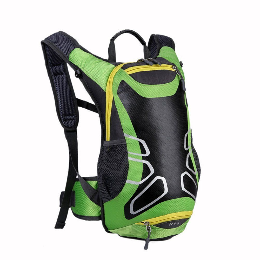 91b304c54af2 Amazon.com   YAHUIPEIUS 15L Waterproof Bike Backpack Daypack Cycling ...