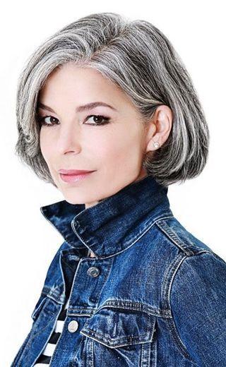 Grey Is The New Black 30 Frisuren Für Graue Haare