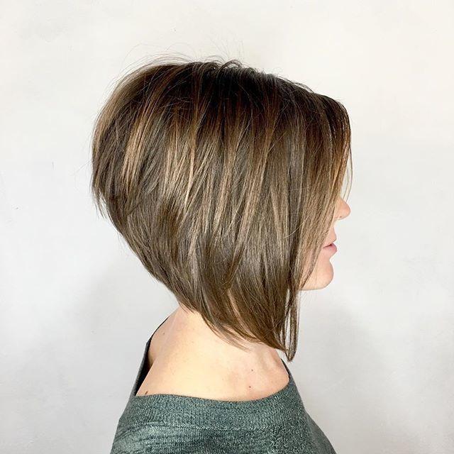 33+ High angled bob haircut ideas