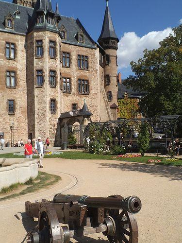 schloss wernigerode im harz-deutschland