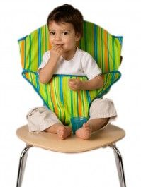 Cadeira de Alimentação Totseat Lime (Verde Listrado)
