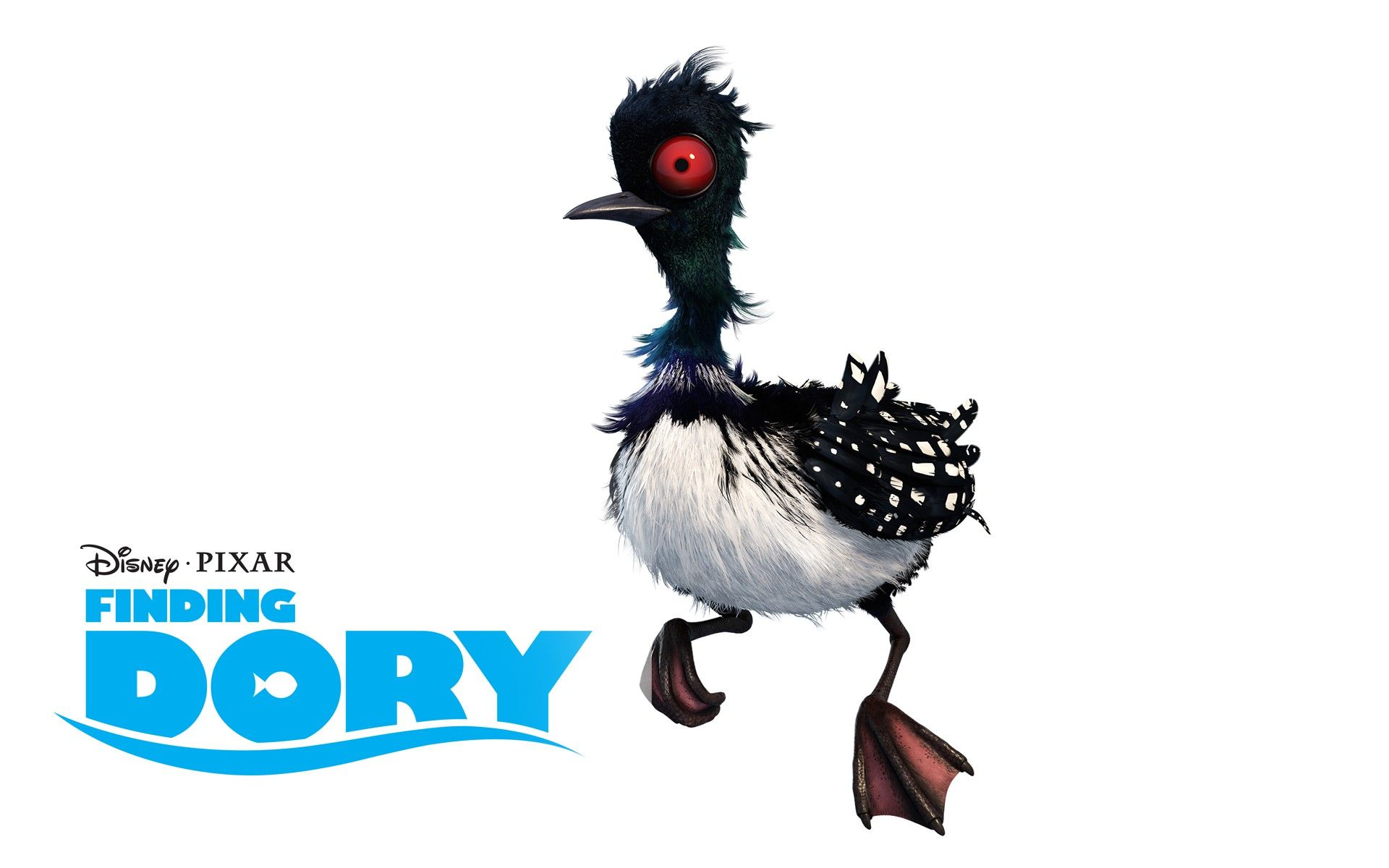 On the new movie Finding Dory, Becky the loon has a crush on Nemo\'s ...
