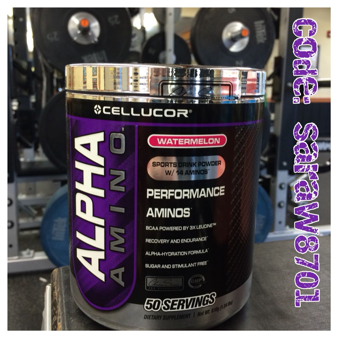 Get 25 Off All Cellucor Products With The Code Saraw