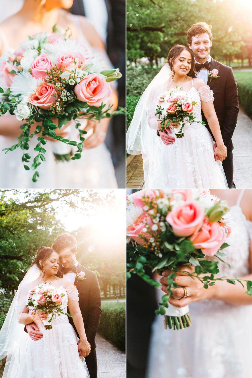 Haella + Collin Franklin Park Conservatory Wedding » Red