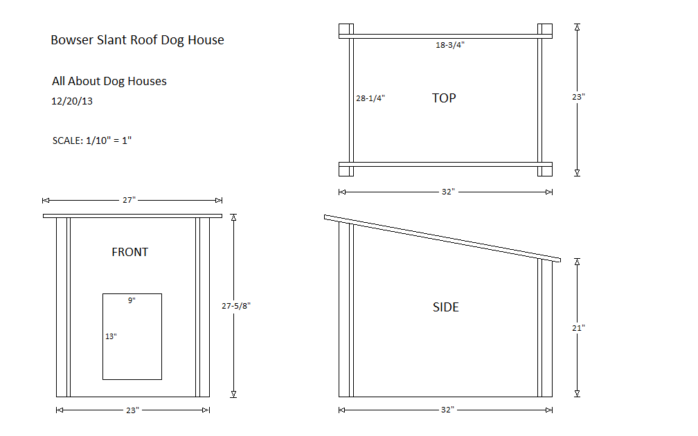 flat roof dog house plans   Google Search   English Bull      flat roof dog house plans   Google Search   English Bull Terrier  amp  Pug Love   Pinterest   Dog House Plans  Flat Roof and Dog Houses