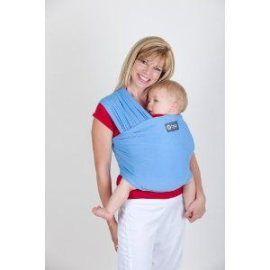 d9fb8d0ee5c Amazon.com  New Boba Wrap in Light Blue with Matching Carrying Pouch    Infant Baby Carrier   Preemie - 18months (Previously Sleepy Wrap)  Baby