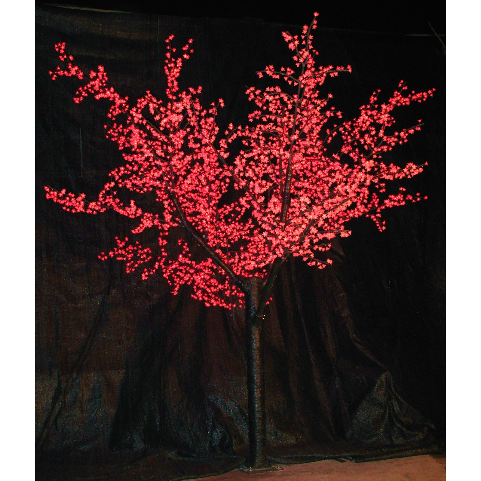 Have To Have It 12 Ft Pre Lit Led Cherry Blossom Tree Red 5999 99 Cherry Blossom Tree Led Lights Event Decor Direct